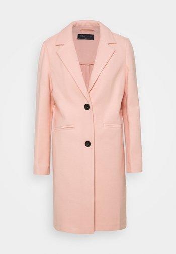 KNITBACK COAT - Classic coat - light pink