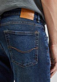 PULL&BEAR - Slim fit jeans - dark blue - 5