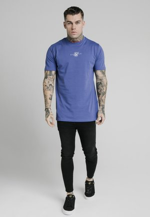 SQUARE HEM TEE - T-shirt basic - blue