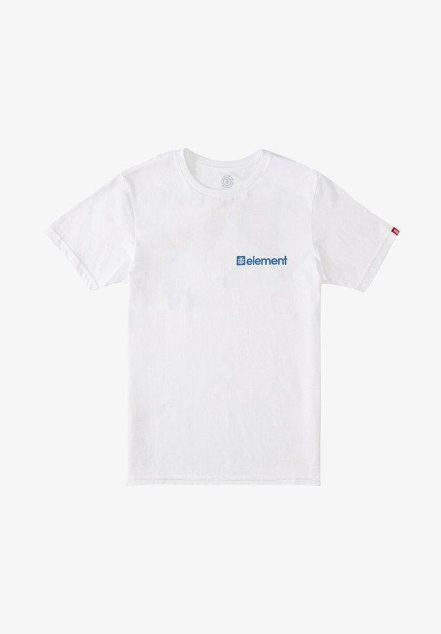 T-shirt med print - optic white
