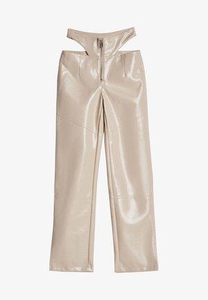 Pantalon classique - stone