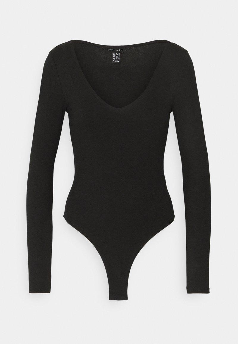 New Look - Long sleeved top - black