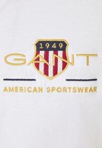 GANT - ARCHIVE SHIELD - T-shirt med print - white - 6
