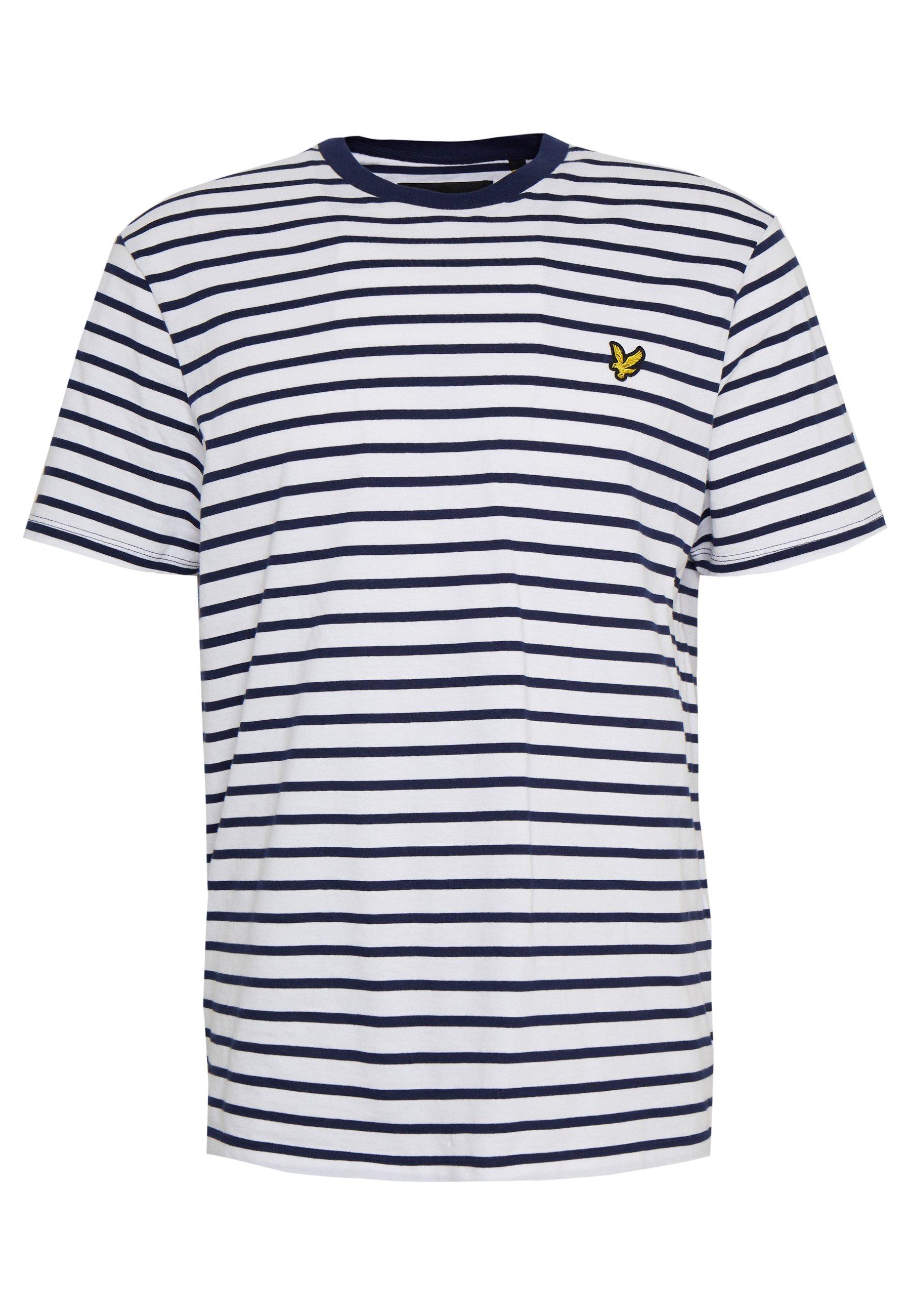 Men BRETON STRIPE  - Print T-shirt