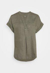Marks & Spencer London - BLOUSE - T-shirt print - khaki - 0