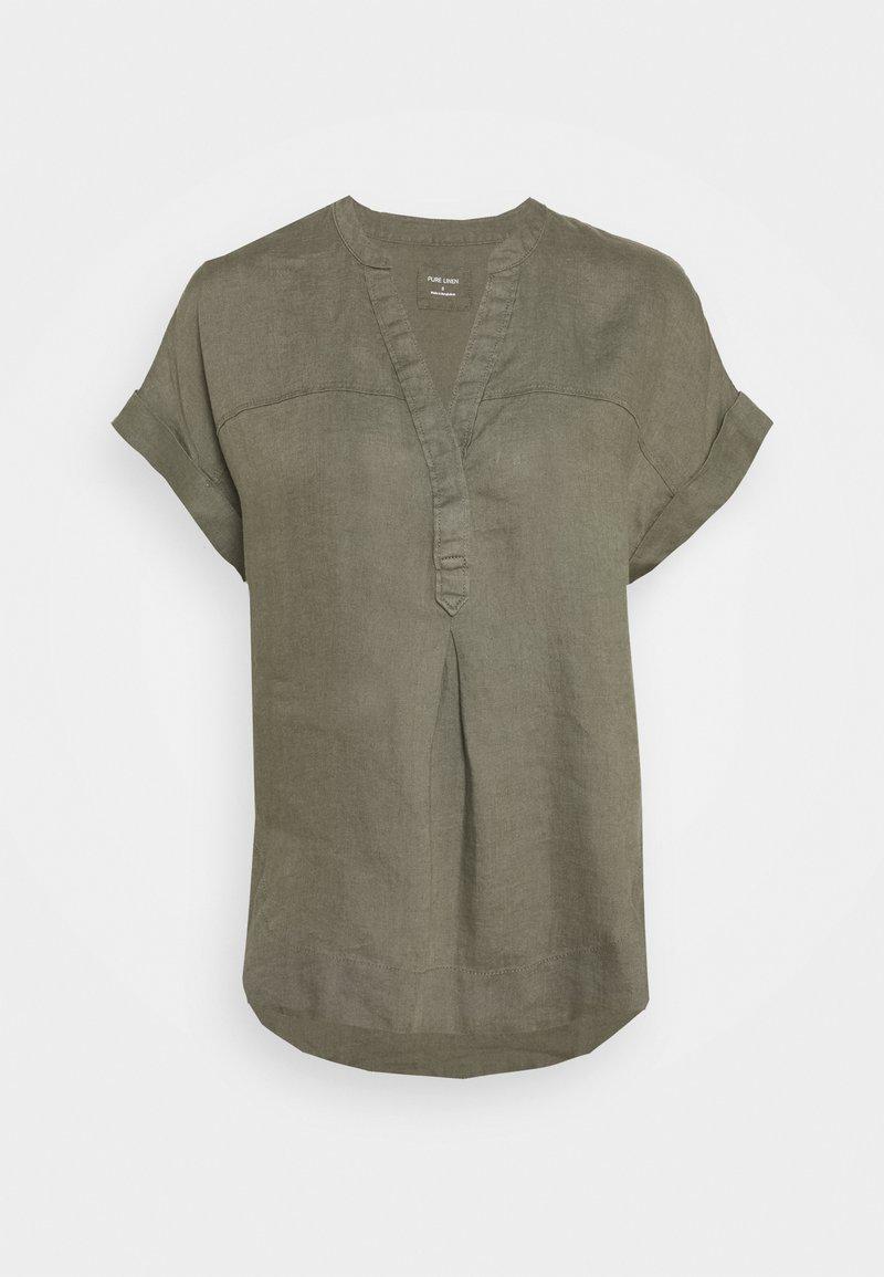 Marks & Spencer London - BLOUSE - T-shirt print - khaki