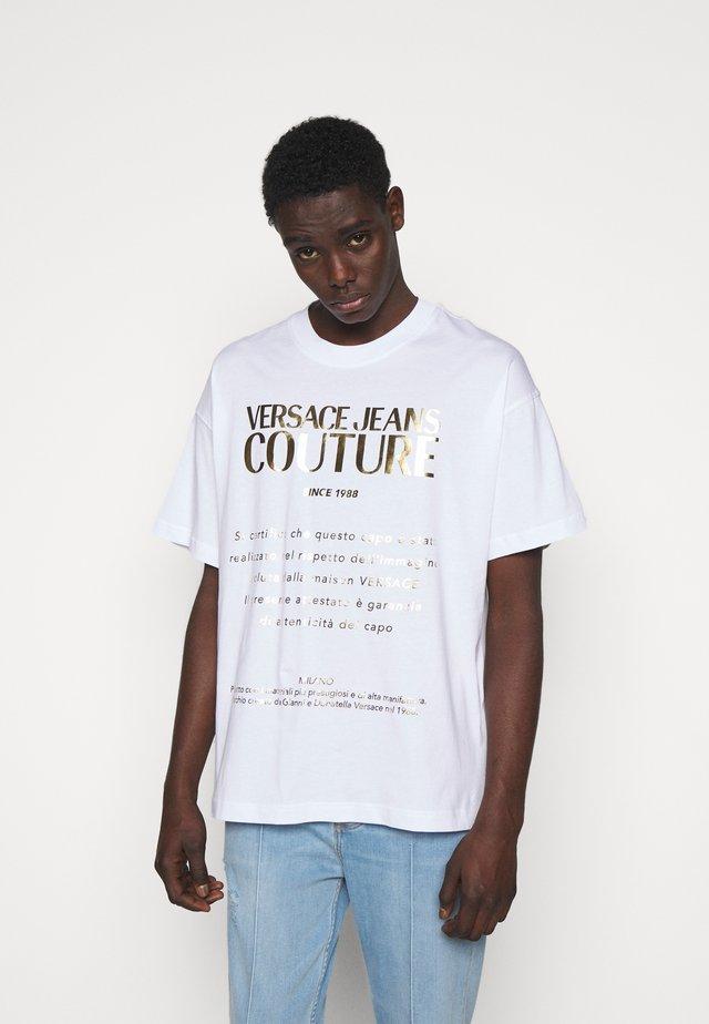 MOUSE - T-shirt imprimé - white