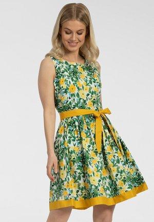 Robe d'été - yellow-multicolor