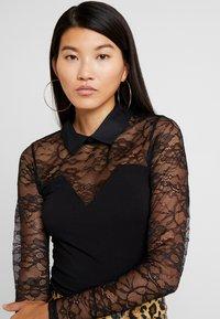 Morgan - Long sleeved top - noir - 3