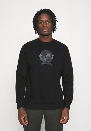 COLLEGIATE CREST - Sweatshirt - black