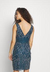 Lace & Beads Petite - SELINA DRESS - Sukienka koktajlowa - teal - 2