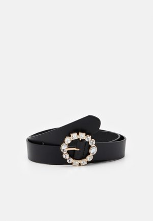 MAKENNA BELT - Pásek - black/gold-coloured