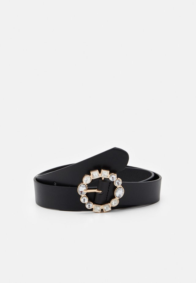 MAKENNA BELT - Cinturón - black/gold-coloured