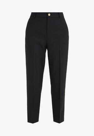 BORREM PANT - Pantalon classique - black