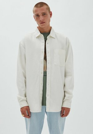 RELAXED FIT - Shirt - off white