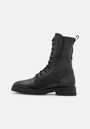 MELA  - Lace-up ankle boots - oliv