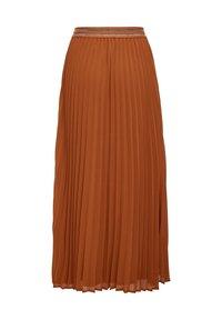 ONLY - Pleated skirt - ginger bread - 6