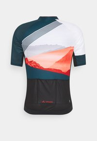 Vaude - ME MAJURA - T-Shirt print - baltic/mars red - 6