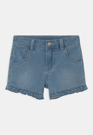 JOHANNA - Denim shorts - light-blue denim