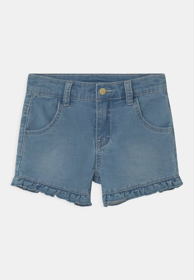 JOHANNA - Shorts di jeans - light-blue denim