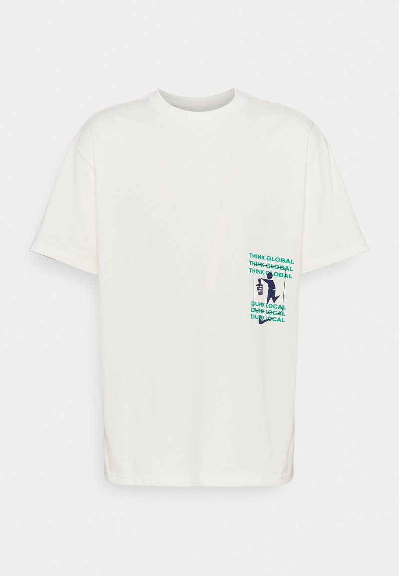 Nike Performance - THERE IS NO OVERTIME TEE - T-shirt med print - pure