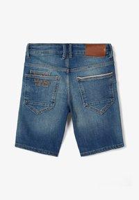 Name it - SLIM FIT - Denim shorts - medium blue denim - 2