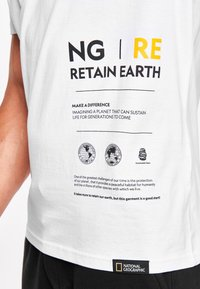 National Geographic - MIT PRINT - Print T-shirt - white - 2