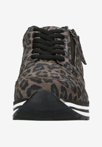 Manfield - MIT LEOPARDENMUSTER - Trainers - grey - 4