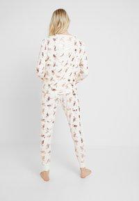 Chelsea Peers - FLAMINGOS - Pijama - white/rose gold - 2