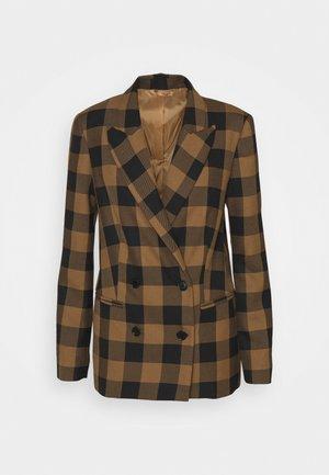 BROOK - Short coat - sepia tint