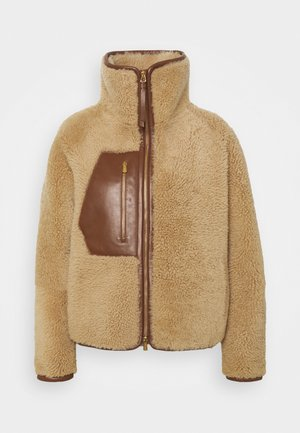 Winter jacket - pecan
