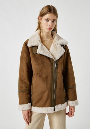 Light jacket - mottled light brown