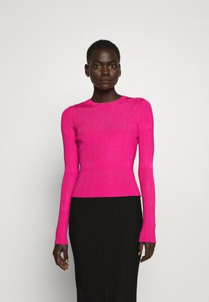 SWILLERY - Strikkegenser - bright pink