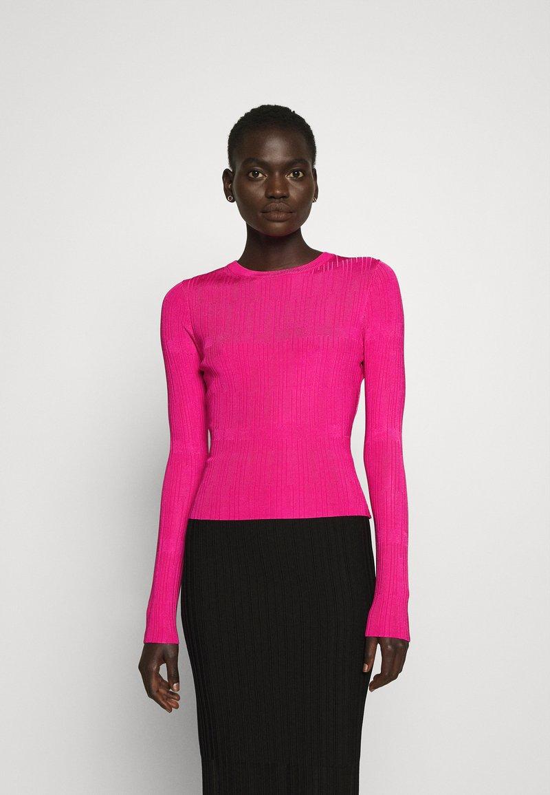HUGO - SWILLERY - Jumper - bright pink