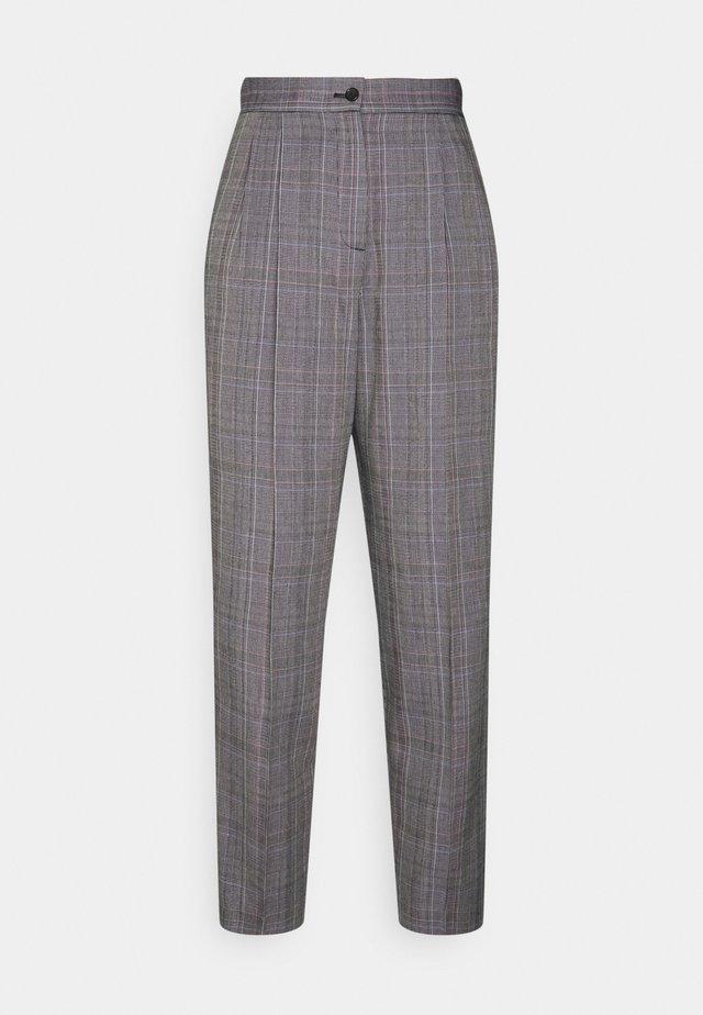 WOMENS TROUSERS - Spodnie materiałowe - grey