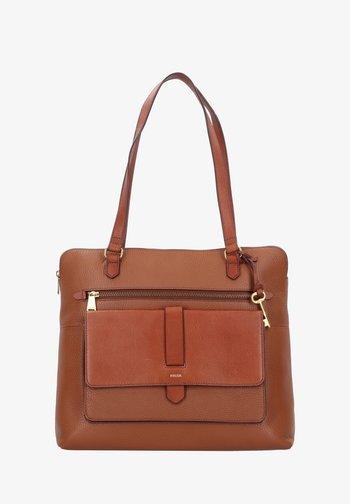 KINLEY - Tote bag - brown