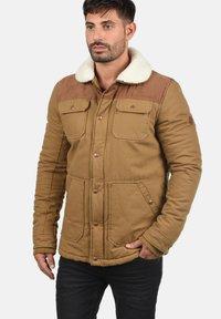 Solid - FERDINAND - Winter jacket - light brown - 0
