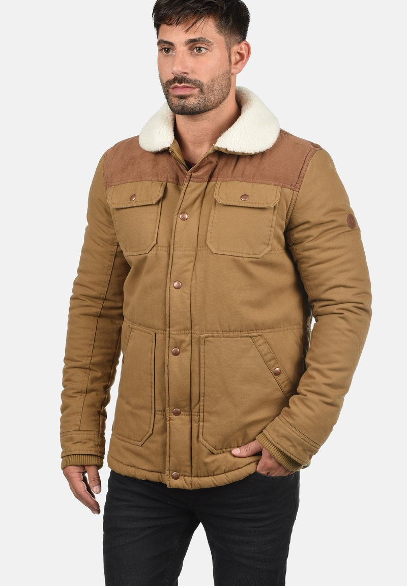 Solid - FERDINAND - Winter jacket - light brown
