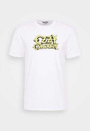 ONSOZZY LIFE REGULAR TEE - Print T-shirt - white