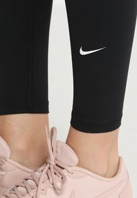 Nike Performance - ONE - Legginsy - black/white - 4