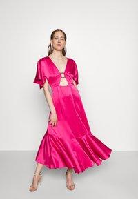HUGO - KAVORA - Maxi dress - bright pink - 3