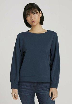 Sweatshirt - dark denim blue