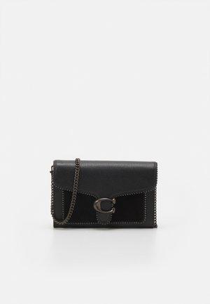 BEAD CHAIN TABBY - Wallet - black