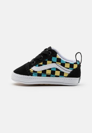 OLD SKOOL CRIB UNISEX - First shoes - black/multicolor