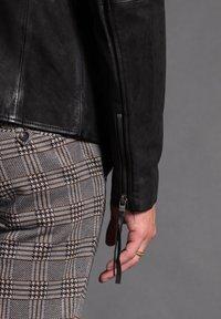 Tigha - WILSON  - Leather jacket - black - 4