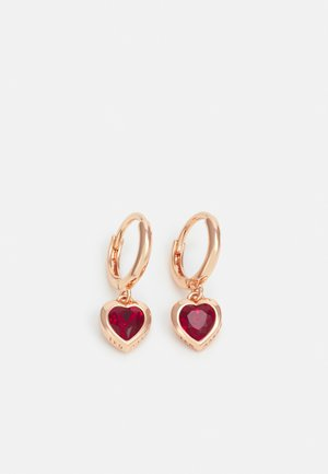 HANNIY HEART EARRING - Earrings - rose gold-coloured