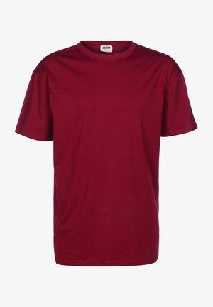 ORGANIC  - T-shirt basic - burgundy