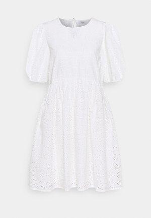 ENBUTTERCUP DRESS - Day dress - white