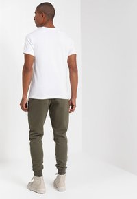 Timberland - CREW LINEAR  - Print T-shirt - white - 2