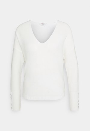 MIEN V-NECK - Jumper - off white